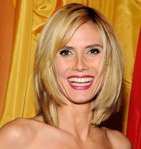 Heidi Klum Layered Bob HairStyles