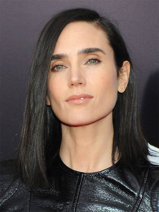 Jennifer Connelly Medium Length Hairstyles for Thin Hair
