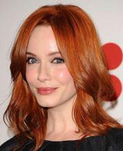 hairstyles medium red