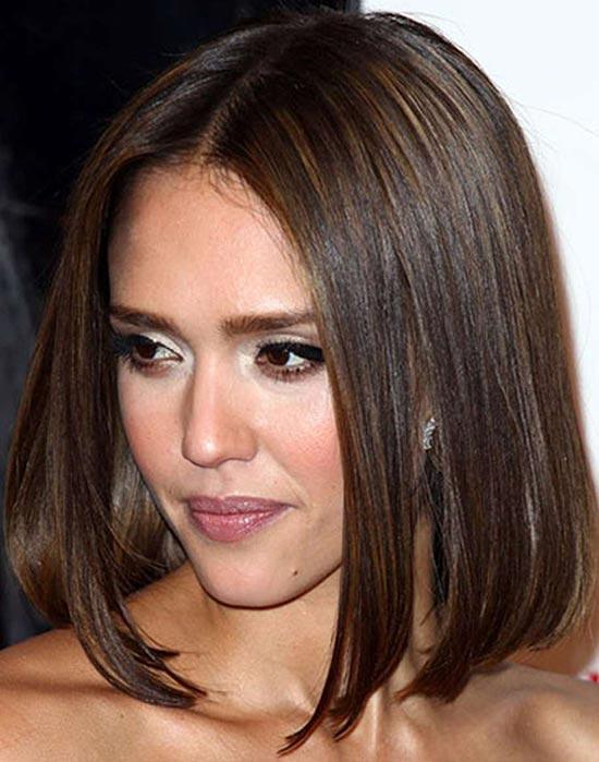 Jessica Alba Medium Bob Hairstyles
