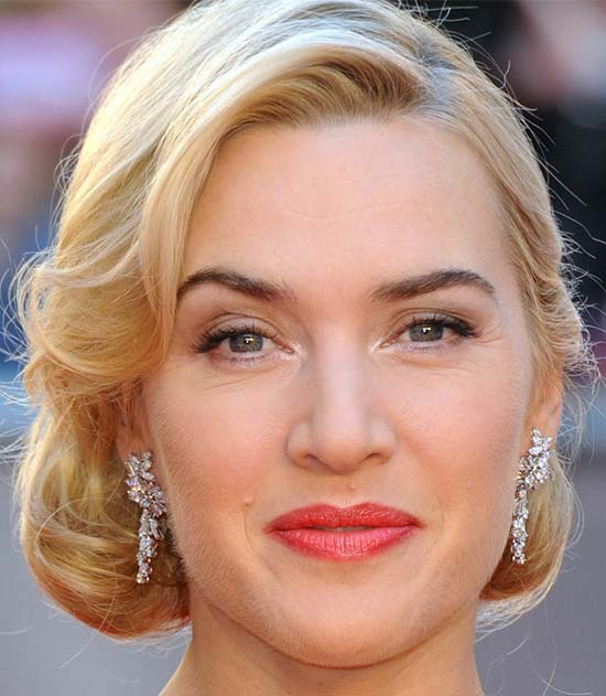 Kate Winslet Medium Curly Hairstyles