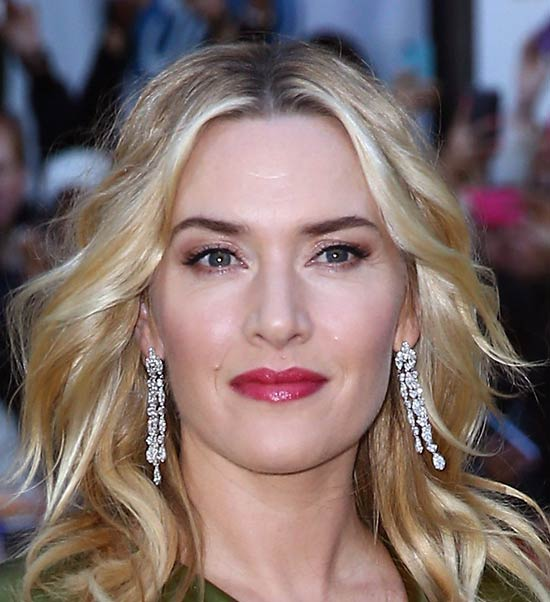 Kate Winslet Medium Layered Haircuts