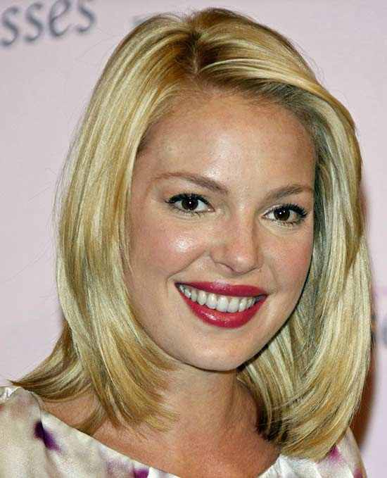Katherine Heigl Long Bob Hairstyles