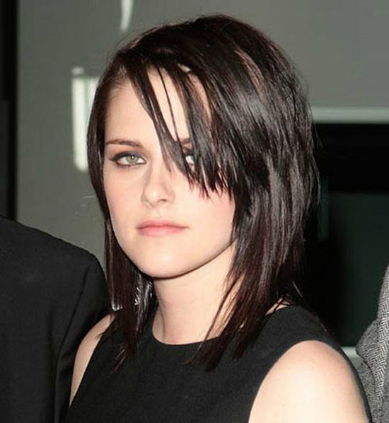 Kristen Stewart Layered Bob Hairstyles