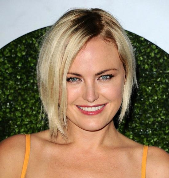 Malin Akerman Layered Bob Hairstyles