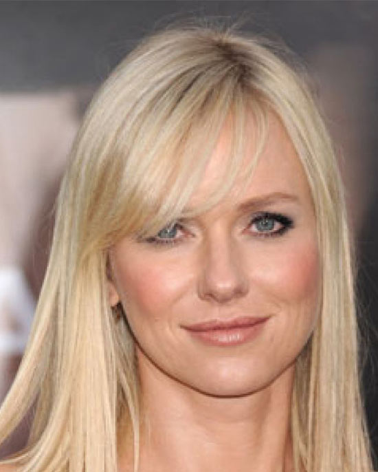 Naomi Watts Medium Hairstyles for Round Faces