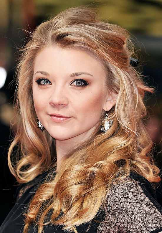 Natalie Dormer Medium Blonde Hairstyles