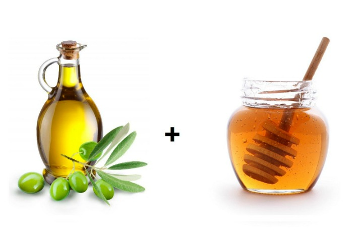 Olive Oil and Honey Mask for Hair Growth