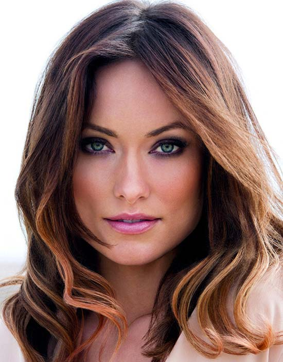 Olivia Wilde Medium Length Haircuts for Thick Hair