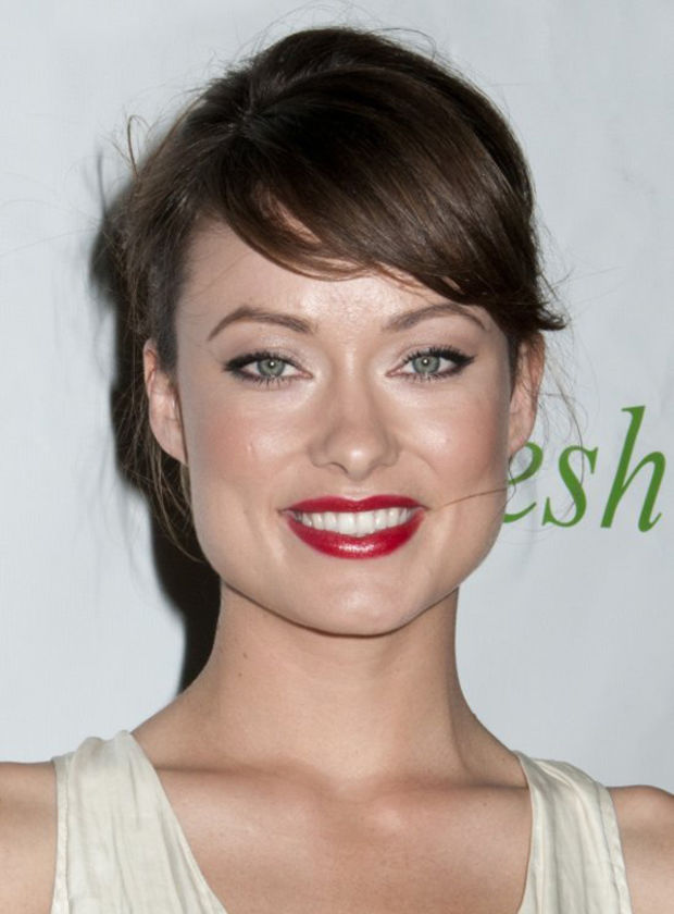 Olivia Wilde Medium Length Hairstyles for Thin Hair