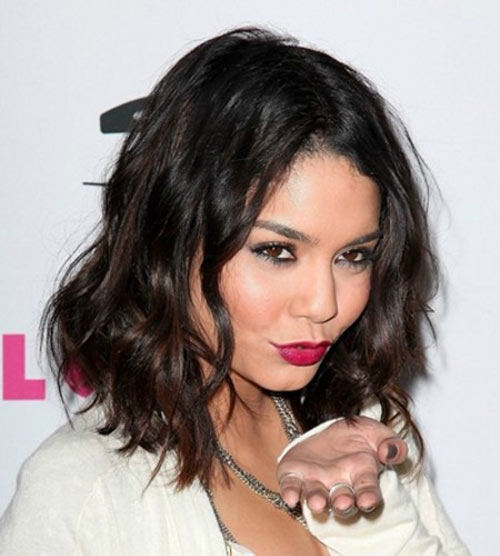 Vanessa Hudgens Layered Bob HairStyles