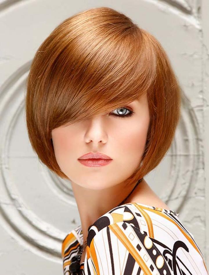 Evan Rachel Wood short fringe hairstyle