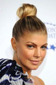 pretty top knot hairstyles