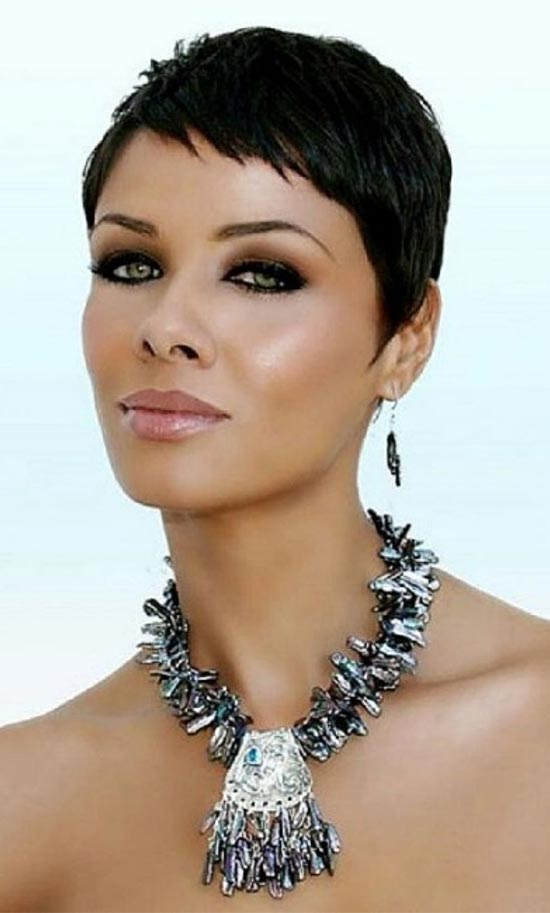 Image Result For Black Hair Pixie Cut