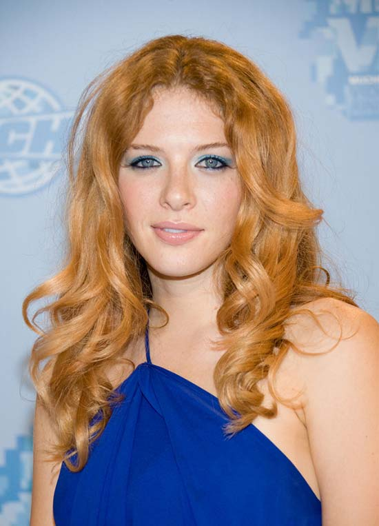 Rachelle lefevre Red Curly Hair