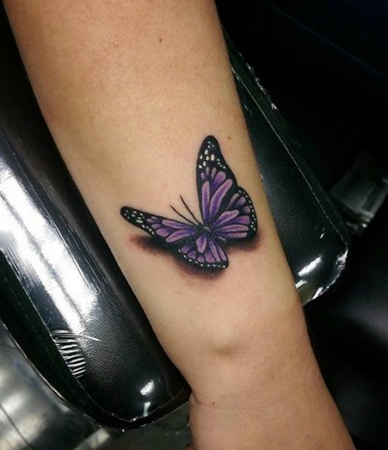Small Butterfly Tattoos Hand
