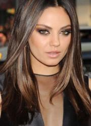 trendy mila kunis hairstyles