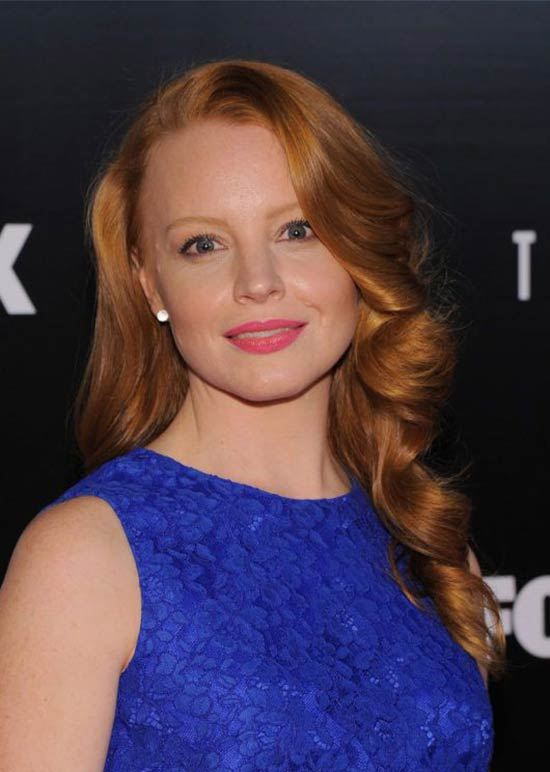 Lauren Ambrose Straight-and-Smooth Hair