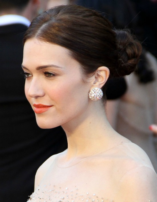 Mandy Moore Braided Hairstyle