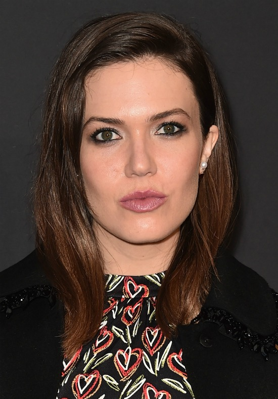 Mandy Moore Long Side Part Hairstyle