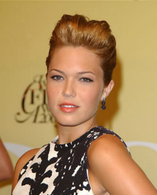 Mandy Moore Updo Hairstyle