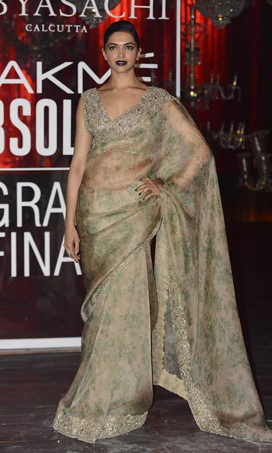 Deepika Padukone Stills At Lakme Fashion