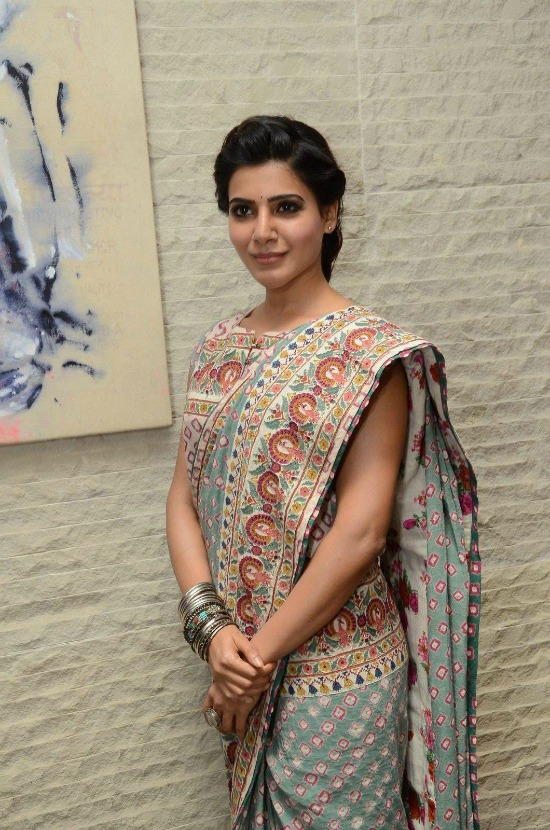 Samantha Ruth Prabhu In Traditional Saree