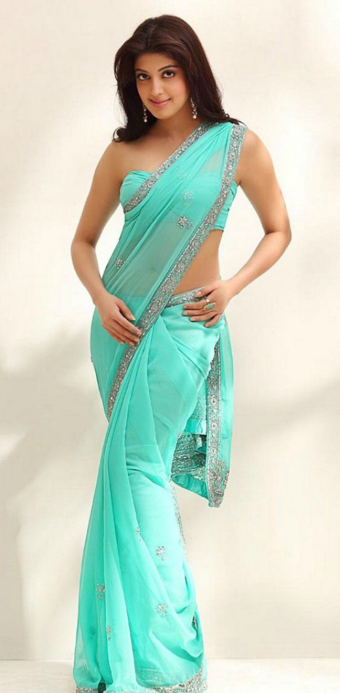 Pranitha Subhash Hot Saree Portfolio Gallery
