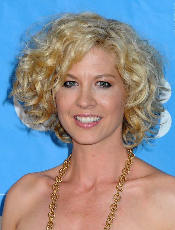 Jenna ElfmanCurly Blonde Hair