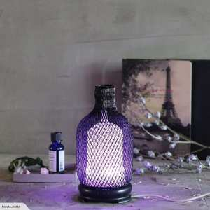 Metal Essential Oils Diffuser Purple
