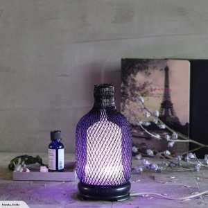 Metal Essential Oils Diffuser Purple