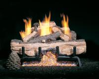 Vent Free Gas Fireplace with Logs | Unique Fireplaces ...