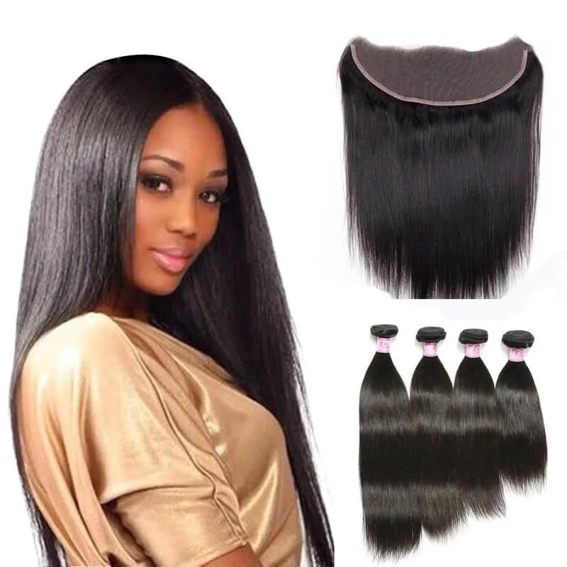 Beautyforever 7A Peruvian Straight Lace Frontal Closure13