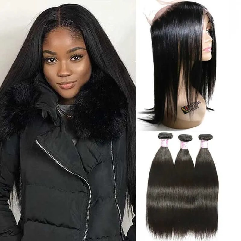 Beautyforever 360 Full Lace Frontal Closure With 3Bundles
