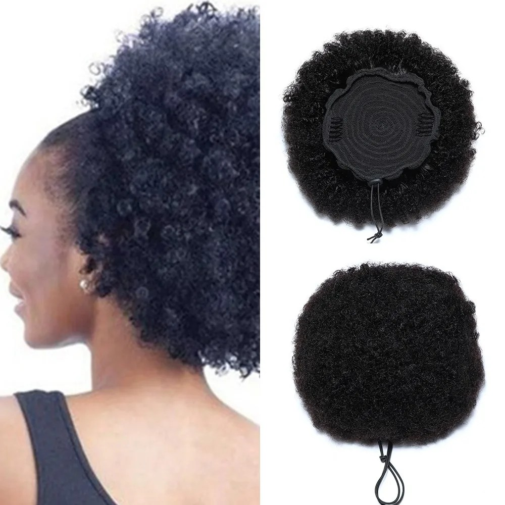 Beautyforever Short Curly Afro Wigs For African American Human