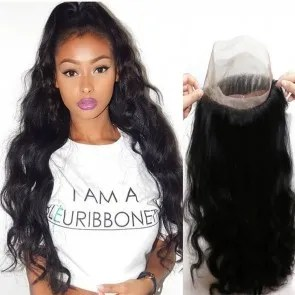 frontal body wave straight 360 frontal closure 360 lace closure body wave virgin human hair