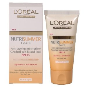 LOreal Nutrisummer Face cream SPF15 50ml