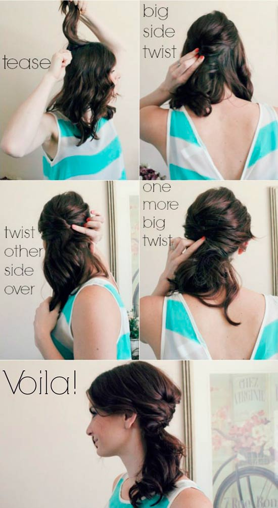 Easy Winter Hairstyles Easy Casual Hairstyles For Long Hair