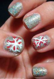 cute christmas nail design