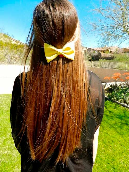 Top 50 Cute Girly Hairstyles With Bows Beauty Tips Hair Care