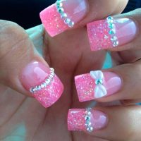 Top 70 Cute Bow Nail Art Designs | Beauty Tips, Hair Care