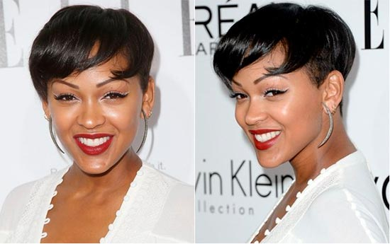 Stylish Black Celebrity Short Hairstyles Beauty Tips Hair Care