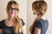 easy step-step hairstyle tutorials