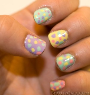 70 spring easter nail art ideas part one a sparkly life for me easter themed nail art designs prinsesfo Choice Image