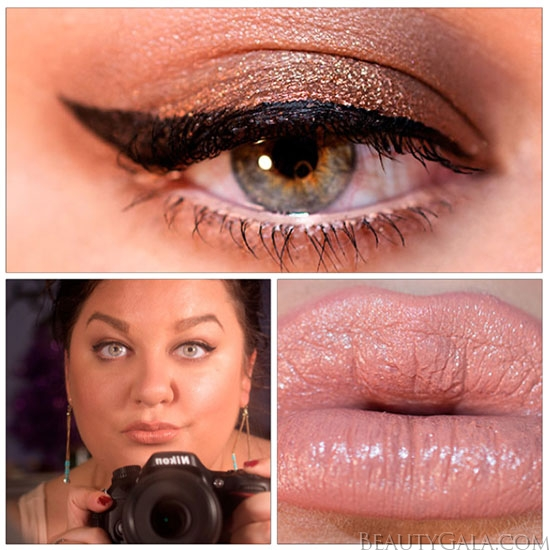 Beauty Bargain Makeup Look Copper Eyes Amp Nude Lips
