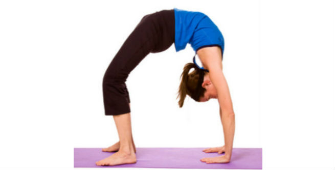Wheel Pose or Chakrasana