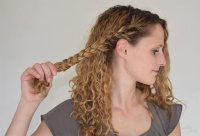 Heatless Curls Overnight | No Heat Curls for Short and ...