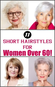 hairstyles 60 year woman