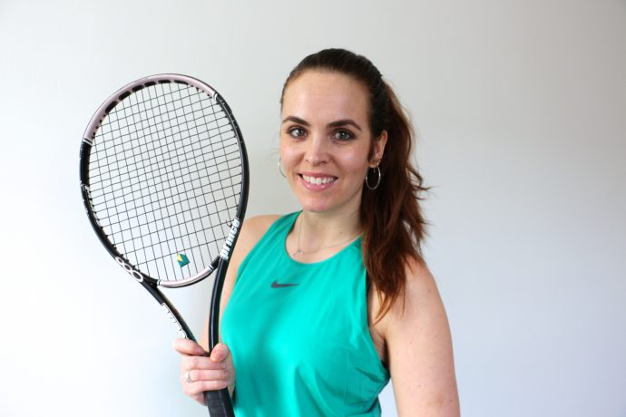 Tennis sportdagboek