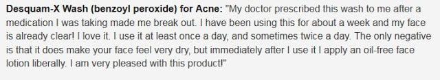 benzoyl peroxide for acne reviews 2